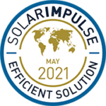 Label Solar Impulse Efficient Solution